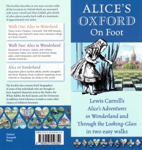 Alice's Oxford on Foot cover